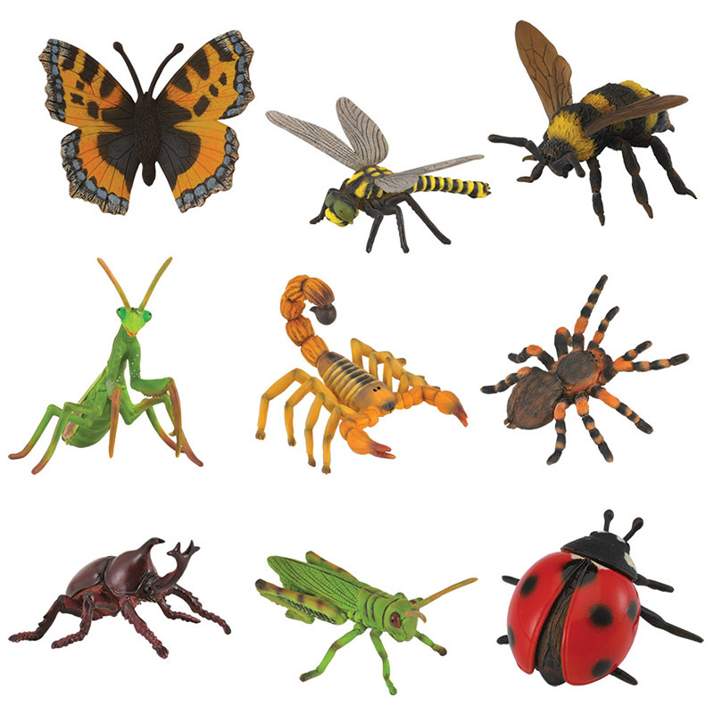 Collecta Insects Amp Bug Life Replica Set Of 9