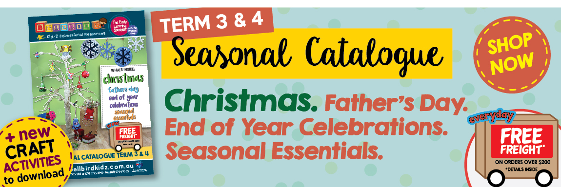 SEASONAL  CATALOGUE 3 & 4