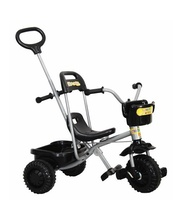 *SPECIAL: SPECIAL: Tray Trike With Handle - Black - 66cm (w)