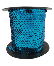 *Sequin String Roll 5mm x 45m - Blue