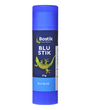 Bostik Blu Stik Blue Glue Stick - 21g