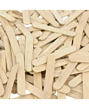 Mini Pop Sticks 1000pk - Natural Wood