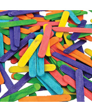 Mini Pop Sticks 1000pk - Assorted Colours