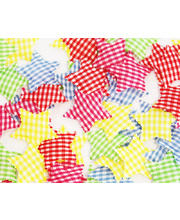 Fabric Star Shapes - 50pk