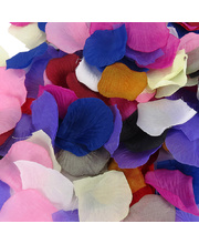 Fabric Flower Petals - Assorted Colours 150pcs