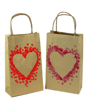 Valentines Day Heart Gift Bag - Activity Pack of 24