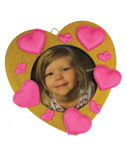 Valentines Day Heart Photo Frame - Activity Pack of 24