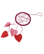 Valentines Day Dream Catcher - Class Pack of 24