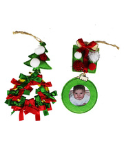 >Decorated Christmas Wooden Frames Activity Kit - Makes 30