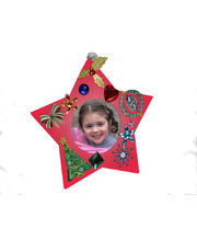 >Keepsake Star Clay Photo Frames Activity Kit - Makes 30