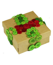 >Personalised Paper Mache Gift Box Activity Kit - Makes 24