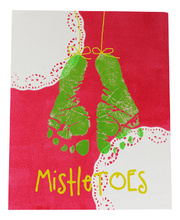 >Christmas MistleTOES Canvas Board - Activity Pack for 30 children