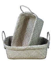 Seagrass Baskets - Hamper Set of 2