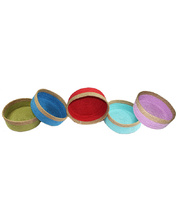 Natural Jute Bowl Large - Set of 5