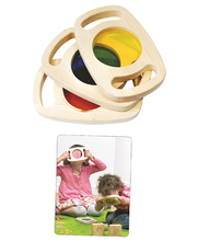 *Easy Hold Colour Hand Viewer - Set of 3