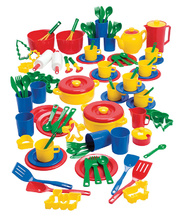 Dantoy Economy Kitchen Set - 100pcs