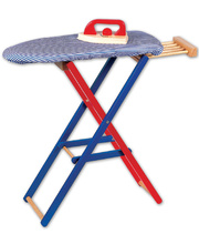 Santoys Iron & Ironing Board Set - 63 x 12 x 50cmH