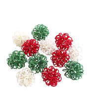 *SPECIAL: >Christmas Rattan - Knots 12pk
