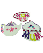 *>Paper Shapes - Tea Party 15pcs