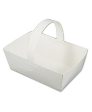 >White Card Basket - 12pk