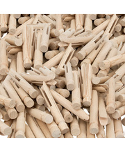 Natural Wooden Dolly Pegs - 24pk