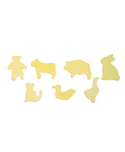 *SPECIAL: Wooden Shapes Pack of 9 Animals