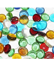 Glass Mosaic Assorted Stones 250g - 50pk