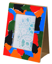 Paper Mache Photo Frame - 180 x 240mm