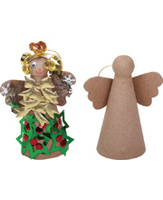 *SPECIAL: >Paper Mache Angel - 6pk