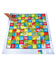 Snakes and Ladders Floor Playmat Game