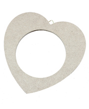 >Wooden Frames - Heart Large 2pk