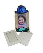 Paper Frames with Plastic Window - White 10pk