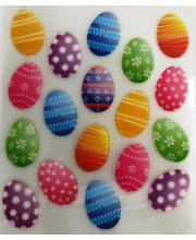 Easter Sticker Pack - Eggs