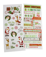 *SPECIAL: >Christmas Stickers - Assorted Pack 150 Stickers