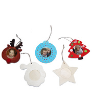 >Wooden Frames - Christmas Assorted 10pk