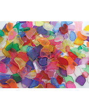 Mosaic Tiles Plastic Small - Transparent 250g