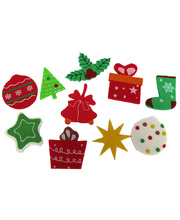 >Foam Printed Stickers - Christmas Assorted 100pcs