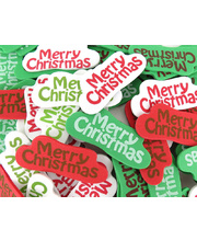 >Foam Printed Stickers - Merry Christmas 80pcs