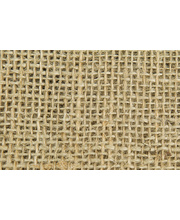 Hessian Squares 10pk - Natural