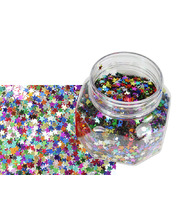@Sequin Stars Assorted - 100g Jar