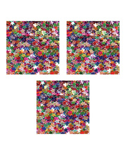 Sequin Scatters Stars 100g Jar Multi Colours - Set of 4