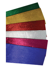 Foil Crepe 100 x 50cm - Assorted Colours 6pk