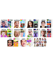 *Emotions Art & Language A3 Chart Pack - 16pcs