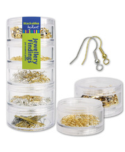 *SPECIAL: Jewellery Findings 300pk - in Stackable Container