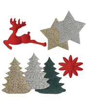 >Christmas Decoration Stickers - 300pk