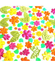 Puffy Shapes - Flower 105pk
