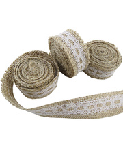 Jute Mesh With Lace Roll - 2m
