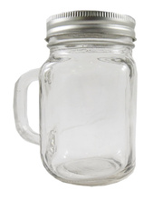 Glass Mug With Lid - 500ml