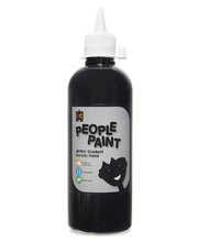 EC Liquicryl People Paint 500ml - Ebony