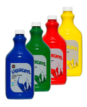 EC Liquicryl Paint 2L - Popular Colours Set of 4